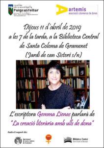 Cartell Gemma Lienas